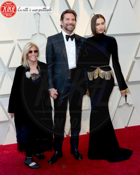 Gloria Campano, Irina Shayk, Bradley Cooper - Los Angeles - 24-02-2019 - Oscar 2019: le coppie sul red carpet