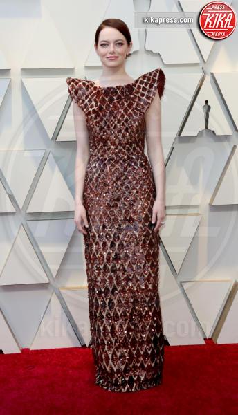 Emma Stone - Los Angeles - 24-02-2019 - Oscar 2019: gli arrivi sul red carpet