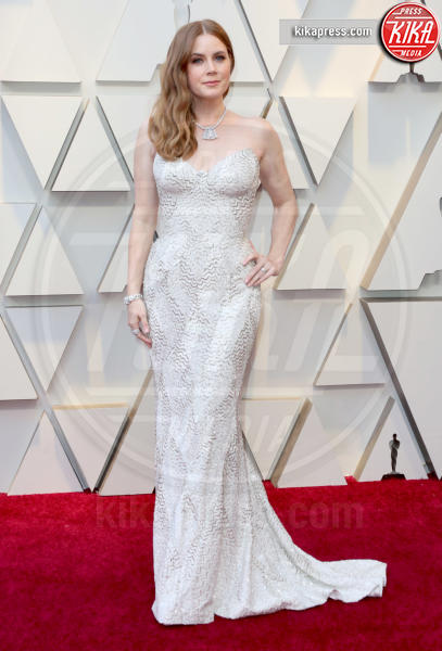 Amy Adams - Los Angeles - 24-02-2019 - Oscar 2019: gli arrivi sul red carpet
