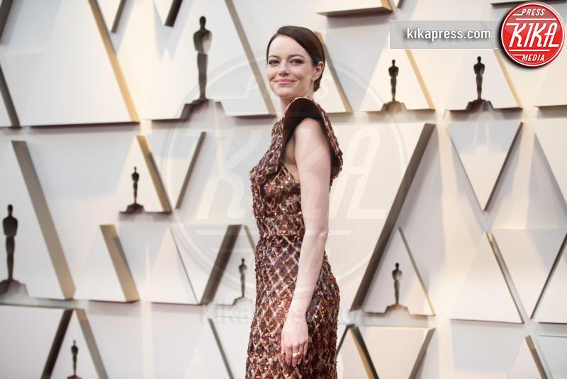 Emma Stone - Hollywood - 24-02-2019 - Oscar 2019: gli arrivi sul red carpet