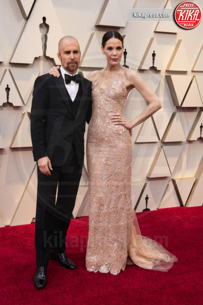 Leslie Bibb, Sam Rockwell - Hollywood - 24-02-2019 - Oscar 2019: le coppie sul red carpet