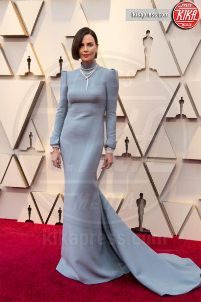 Charlize Theron - Hollywood - 24-02-2019 - Oscar 2019: gli arrivi sul red carpet
