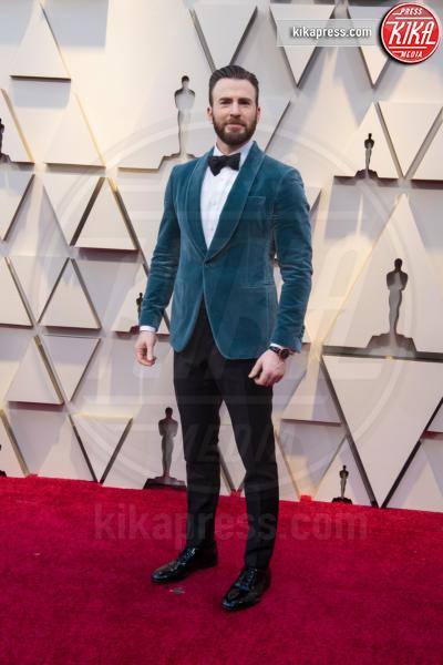Chris Evans - Hollywood - 24-02-2019 - Oscar 2019: gli arrivi sul red carpet