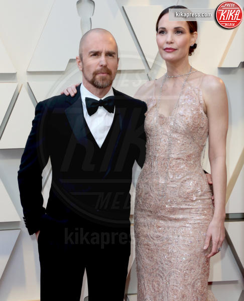 Sam Rockwell - Los Angeles - 24-02-2019 - Oscar 2019: le coppie sul red carpet