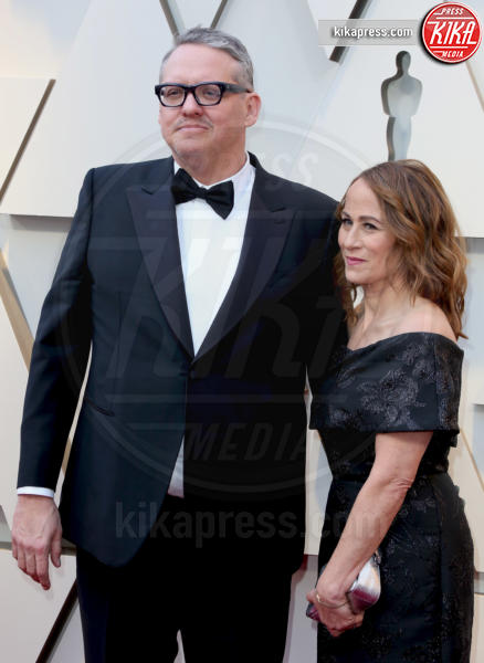 Shira Piven, Adam McKay - Los Angeles - 24-02-2019 - Oscar 2019: le coppie sul red carpet