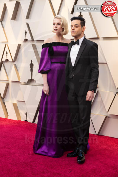 Lucy Boynton, Rami Malek - Hollywood - 24-02-2019 - Oscar 2019: le coppie sul red carpet