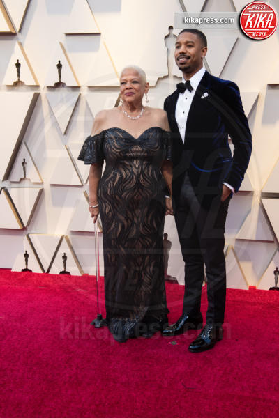 Michael B. Jordan - Hollywood - 24-02-2019 - Oscar 2019: le coppie sul red carpet