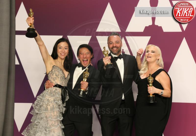 Shannon Dill, Evan Hayes, Elizabeth Chai Vasarhelvi, Jimmy Chin - Los Angeles - 24-02-2019 - Oscar 2019: vincono Roma, Green Book, Bohemian Rhapsody