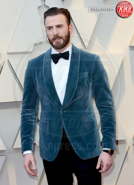 Chris Evans - Los Angeles - 24-02-2019 - Oscar 2019: vincono Roma, Green Book, Bohemian Rhapsody