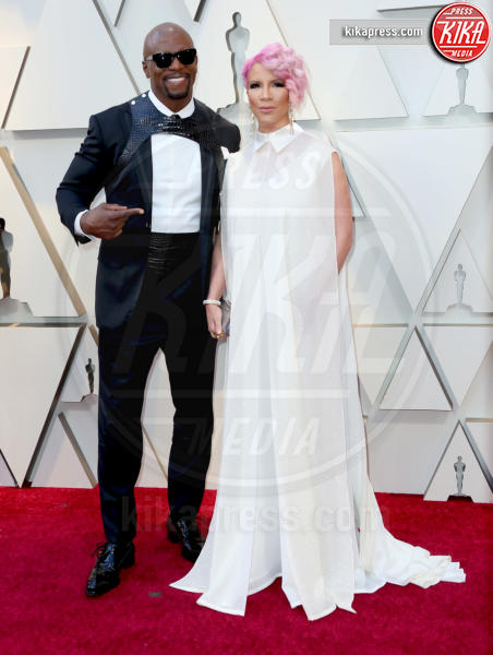 Rebecca King-Crews, Terry Crews - Los Angeles - 24-02-2019 - Oscar 2019: gli arrivi sul red carpet