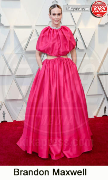 Sarah Paulson - Los Angeles - 24-02-2019 - Oscar 2019, gli stilisti sul red carpet