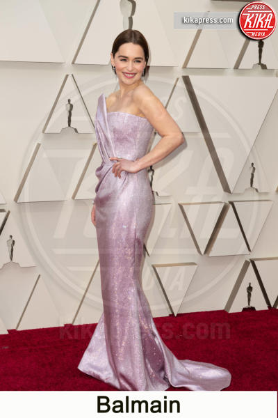 Emilia Clarke - Hollywood - 24-02-2019 - Oscar 2019, gli stilisti sul red carpet