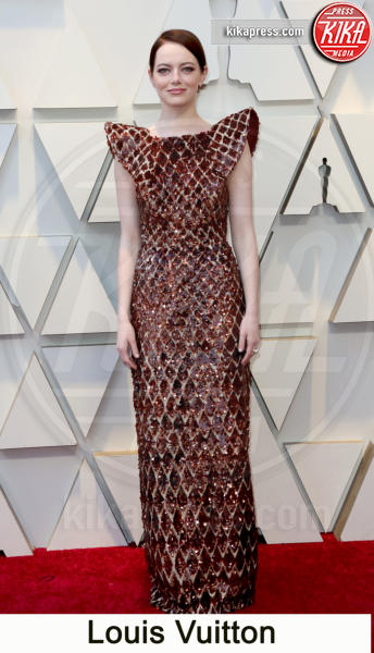 Emma Stone - Los Angeles - 24-02-2019 - Oscar 2019, gli stilisti sul red carpet