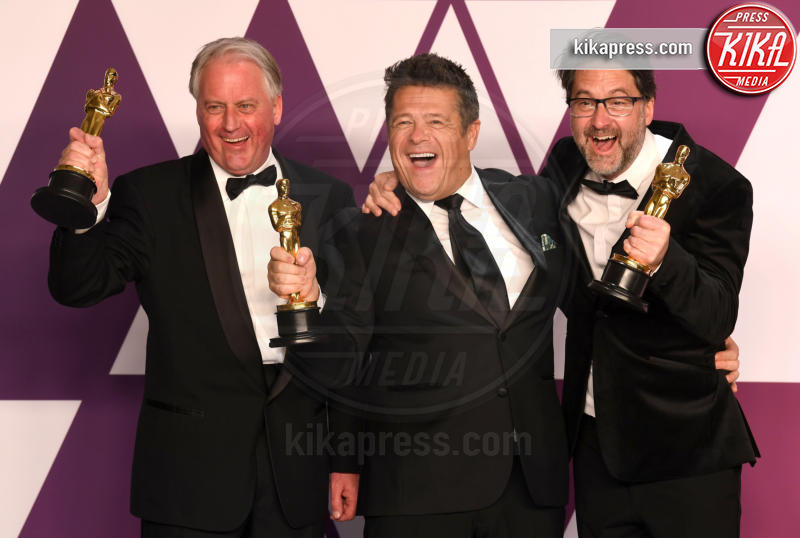 Tim Cavagin, John Casali, Paul Massey - Los Angeles - 24-02-2019 - Oscar 2019: vincono Roma, Green Book, Bohemian Rhapsody