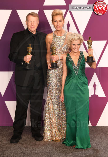 Patricia Dehaney, Greg Cannom, Kate Biscoe - Los Angeles - 25-02-2019 - Oscar 2019: vincono Roma, Green Book, Bohemian Rhapsody