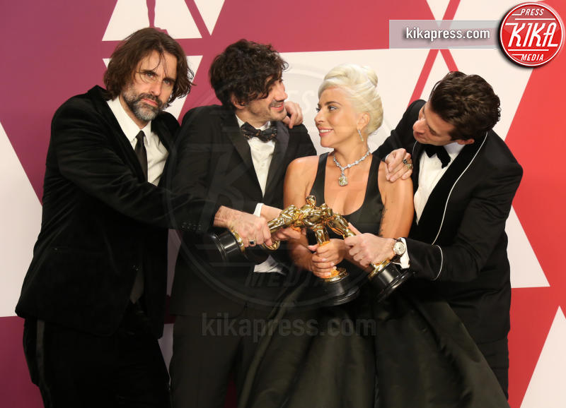 Anthony Rossomando, Andrew Wyatt, Mark Ronson, Lady Gaga - Los Angeles - 24-02-2019 - Oscar 2019: vincono Roma, Green Book, Bohemian Rhapsody