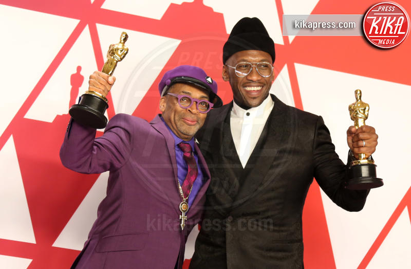 Mahershala Ali, Spike Lee - Los Angeles - 24-02-2019 - Oscar 2019: vincono Roma, Green Book, Bohemian Rhapsody