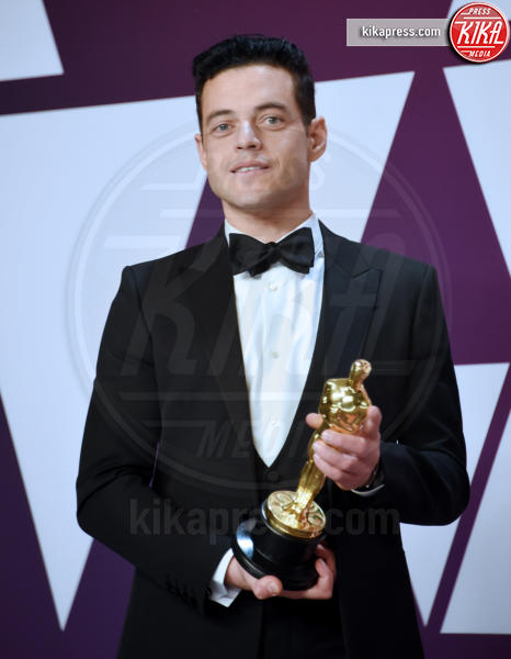Rami Malek - Hollywood - 24-02-2019 - Oscar 2019: vincono Roma, Green Book, Bohemian Rhapsody