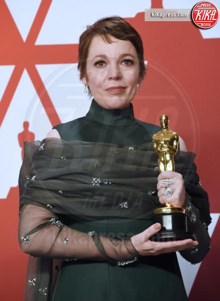 Olivia Colman - Hollywood - 24-02-2019 - Oscar 2019: vincono Roma, Green Book, Bohemian Rhapsody