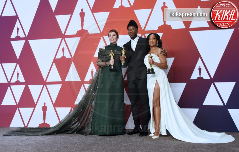 Mahershala Ali, Olivia Colman, Regina King - Hollywood - 24-02-2019 - Oscar 2019: vincono Roma, Green Book, Bohemian Rhapsody