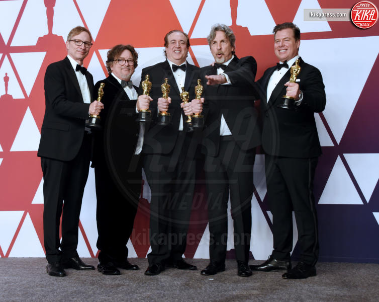 Charles B. Wessler, Brian Currie, Nick Vallelonga, Jim Burke, Peter Farrelly - Hollywood - 24-02-2019 - Oscar 2019: vincono Roma, Green Book, Bohemian Rhapsody