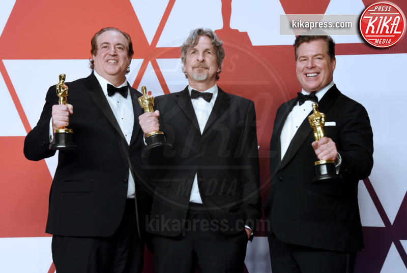 Brian Currie, Nick Vallelonga, Peter Farrelly - Hollywood - 24-02-2019 - Oscar 2019: vincono Roma, Green Book, Bohemian Rhapsody