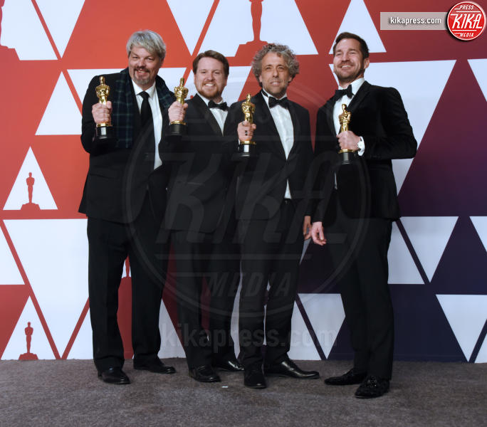 Tristan Myles, J.D. Schwalm, Paul Lambert, Ian Hunter - Hollywood - 24-02-2019 - Oscar 2019: vincono Roma, Green Book, Bohemian Rhapsody