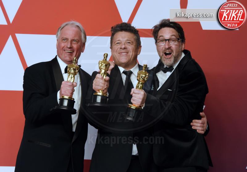 Tim Cavagin, John Casali, Paul Massey - Hollywood - 24-02-2019 - Oscar 2019: vincono Roma, Green Book, Bohemian Rhapsody