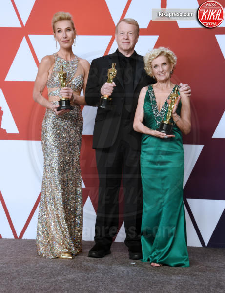 Patricia Dehaney, Greg Cannom, Kate Biscoe - Hollywood - 24-02-2019 - Oscar 2019: vincono Roma, Green Book, Bohemian Rhapsody