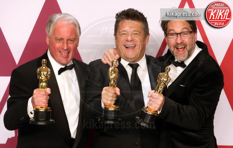 Tim Cavagin, John Casali, Paul Massey - Hollywood - 24-02-2019 - Oscar 2019: vincono Roma, Green Book, Bohemian Rhapsody