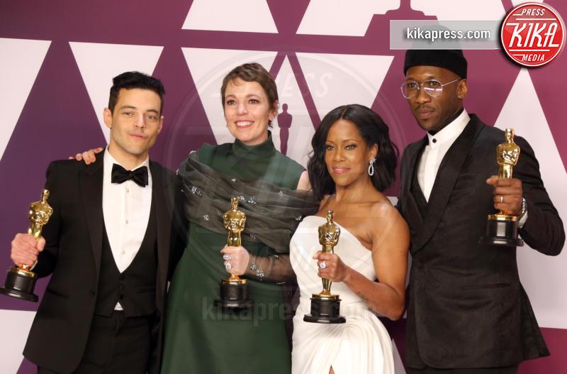 Mahershala Ali, Olivia Colman, Rami Malek, Regina King - Hollywood - 24-02-2019 - Oscar 2019: vincono Roma, Green Book, Bohemian Rhapsody