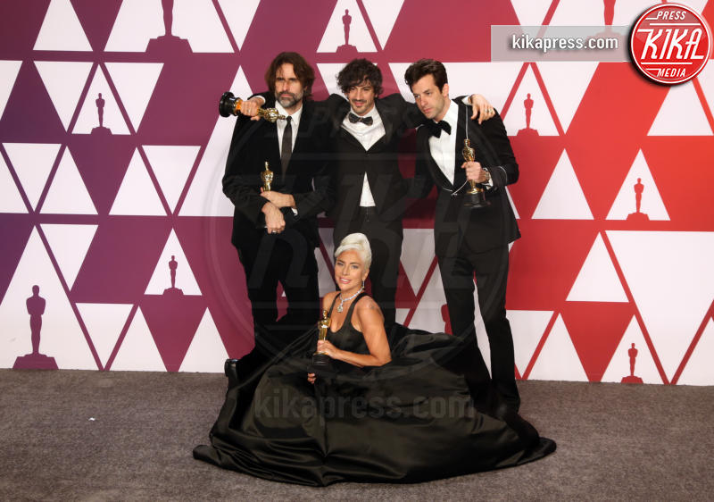 Anthony Rossomando, Andrew Wyatt, Mark Ronson, Lady Gaga - Hollywood - 24-02-2019 - Oscar 2019: vincono Roma, Green Book, Bohemian Rhapsody