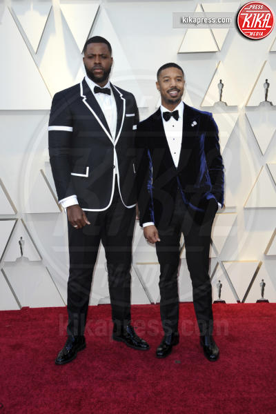 Winston Duke, Michael B. Jordan - Los Angeles - 24-02-2019 - Oscar 2019: gli arrivi sul red carpet