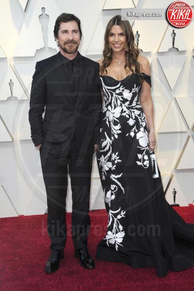 Sibi Blazic, Christian Bale - Los Angeles - 24-02-2019 - Oscar 2019: gli arrivi sul red carpet