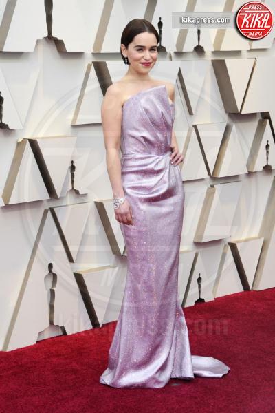 Emilia Clarke - Los Angeles - 24-02-2019 - Oscar 2019: gli arrivi sul red carpet
