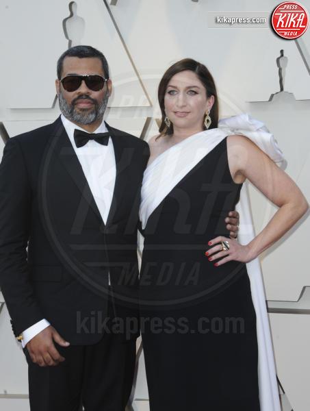Jordan Peele, Chelsea Peretti - Los Angeles - 25-02-2019 - Oscar 2019: gli arrivi sul red carpet