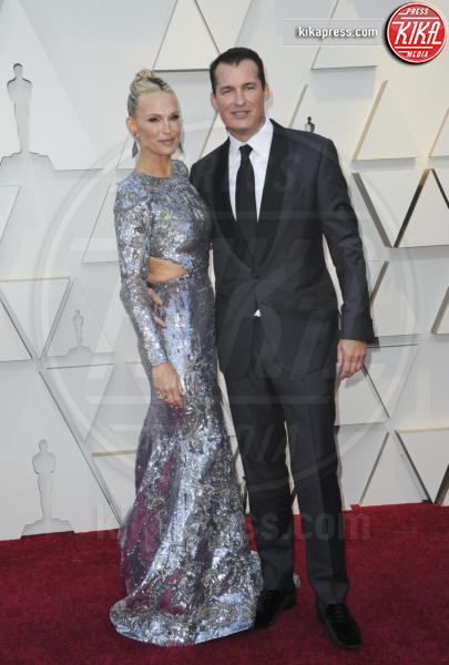 Scott Stuber, Molly Sims - Los Angeles - 25-02-2019 - Oscar 2019: gli arrivi sul red carpet