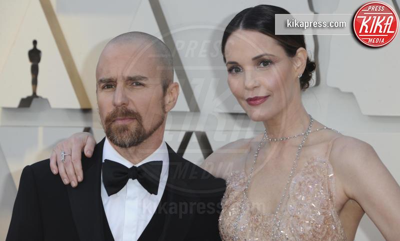 Leslie Bibb, Sam Rockwell - Los Angeles - 25-02-2019 - Oscar 2019: gli arrivi sul red carpet