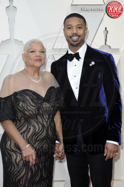 Michael B. Jordan mit Mutter Donna Jordan - Los Angeles - 24-02-2019 - Oscar 2019: gli arrivi sul red carpet