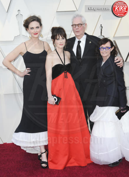 Mary Jo Deschanel, Caleb Deschanel, Emily Deschanel, Zooey Deschanel - Los Angeles - 25-02-2019 - Oscar 2019: gli arrivi sul red carpet