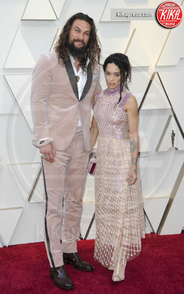 Jason Momoa, Lisa Bonet - Los Angeles - 25-02-2019 - Oscar 2019: gli arrivi sul red carpet