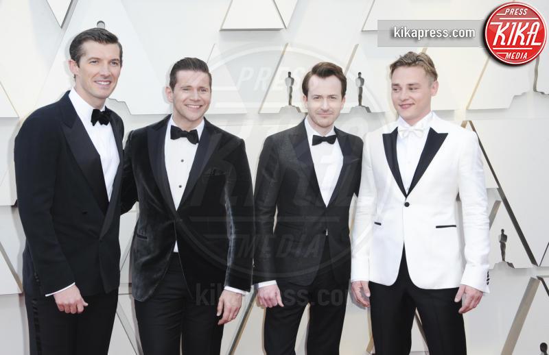 Gwilym Lee, Ben Hardy, Allen Leech, Joseph Mazzello - Los Angeles - 25-02-2019 - Oscar 2019: gli arrivi sul red carpet