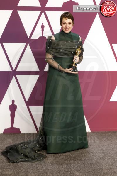 Olivia Colman - Los Angeles - 24-02-2019 - Oscar 2019: vincono Roma, Green Book, Bohemian Rhapsody