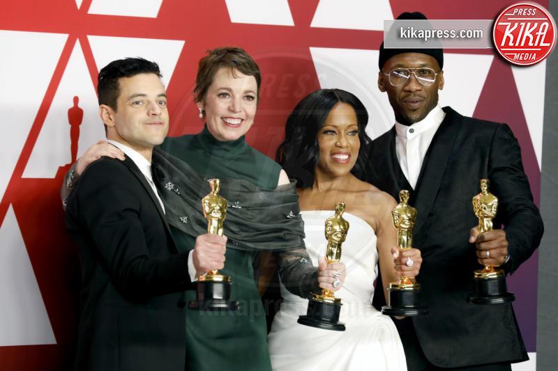 Mahershala Ali, Olivia Colman, Rami Malek, Regina King - Los Angeles - 24-02-2019 - Oscar 2019: vincono Roma, Green Book, Bohemian Rhapsody
