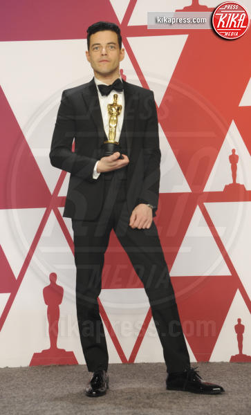 Rami Malek - Los Angeles - 25-02-2019 - Oscar 2019: vincono Roma, Green Book, Bohemian Rhapsody