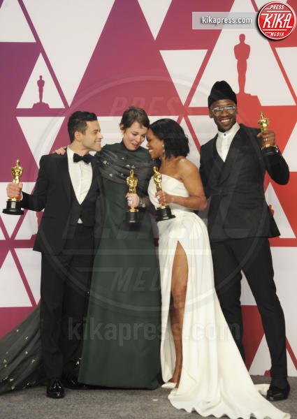 Mahershala Ali, Olivia Colman, Rami Malek, Regina King - Los Angeles - 25-02-2019 - Oscar 2019: vincono Roma, Green Book, Bohemian Rhapsody