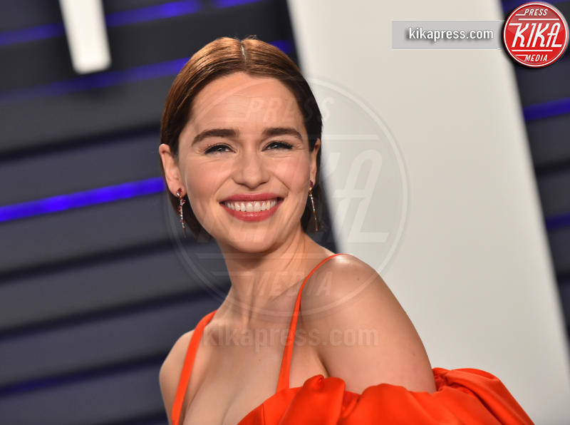 Emilia Clarke - Beverly Hills - 25-02-2019 - Trono di Spade: lo stipendio degli attori per ogni puntata