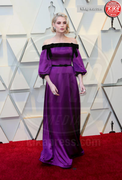 Lucy Boynton - Los Angeles - 24-02-2019 - Oscar 2019: gli arrivi sul red carpet