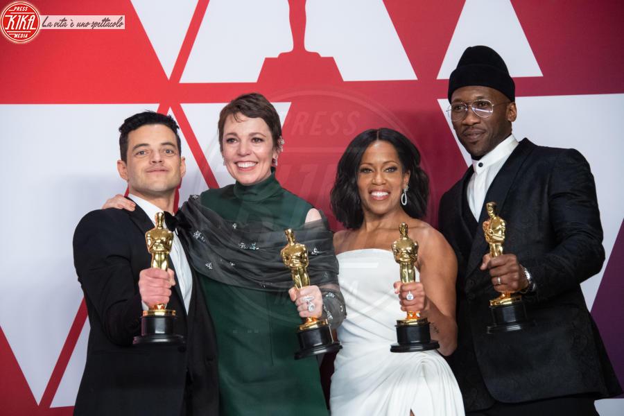 Mahershala Ali, Olivia Colman, Rami Malek, Regina King - Hollywood - 24-02-2019 - Addio 2019, le immagini simbolo dell'anno