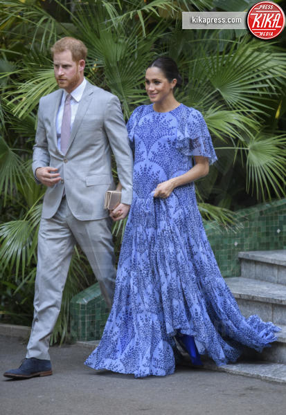 Meghan Duchess of Sussex, Harry Duke of Sussex, Prince Harry, Meghan Markle, Principe Harry - Rabat - 25-02-2019 - Meghan Markle, il parto sarà in acqua e in casa